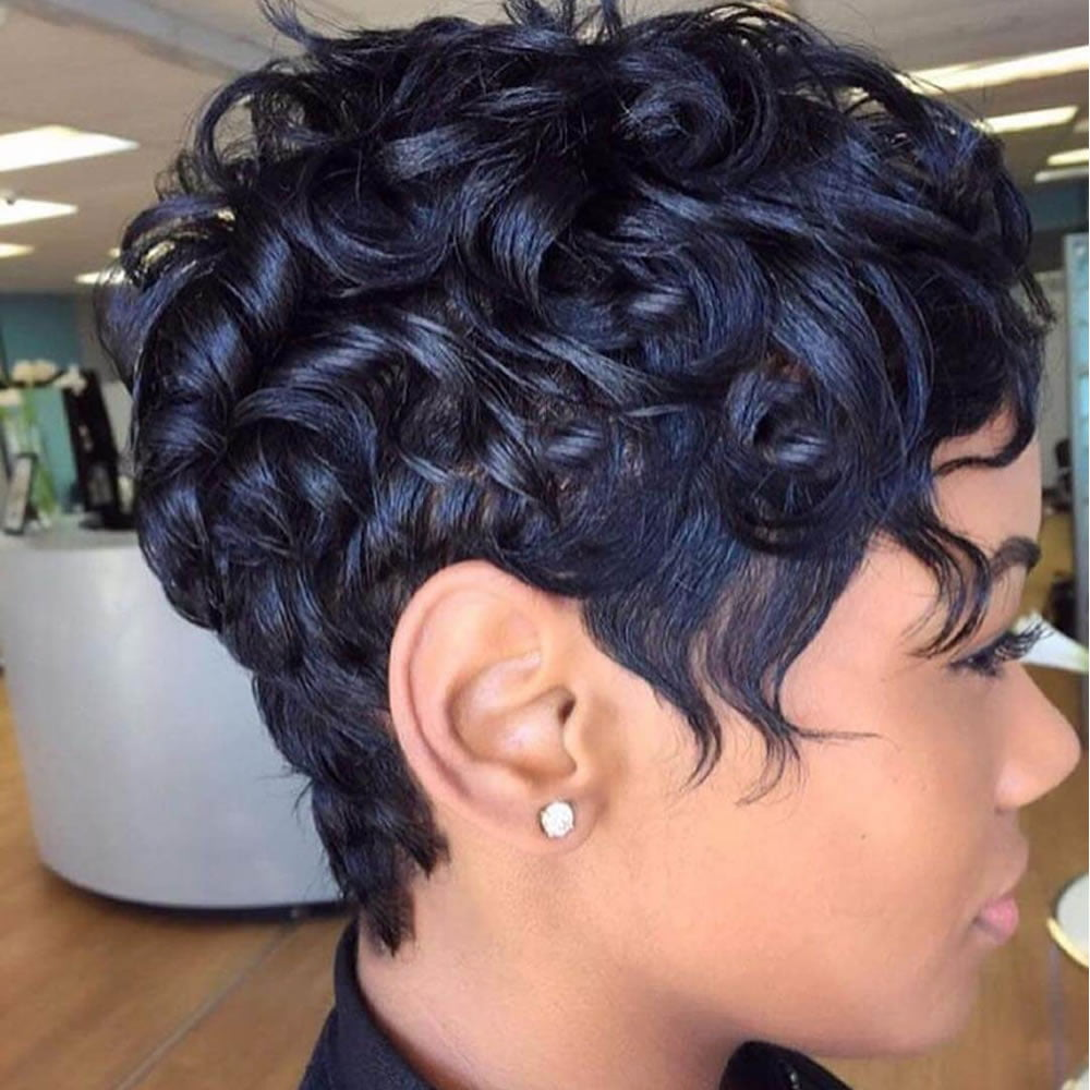 1000 Great Short Pixie Hairstyles For Black Women 2019