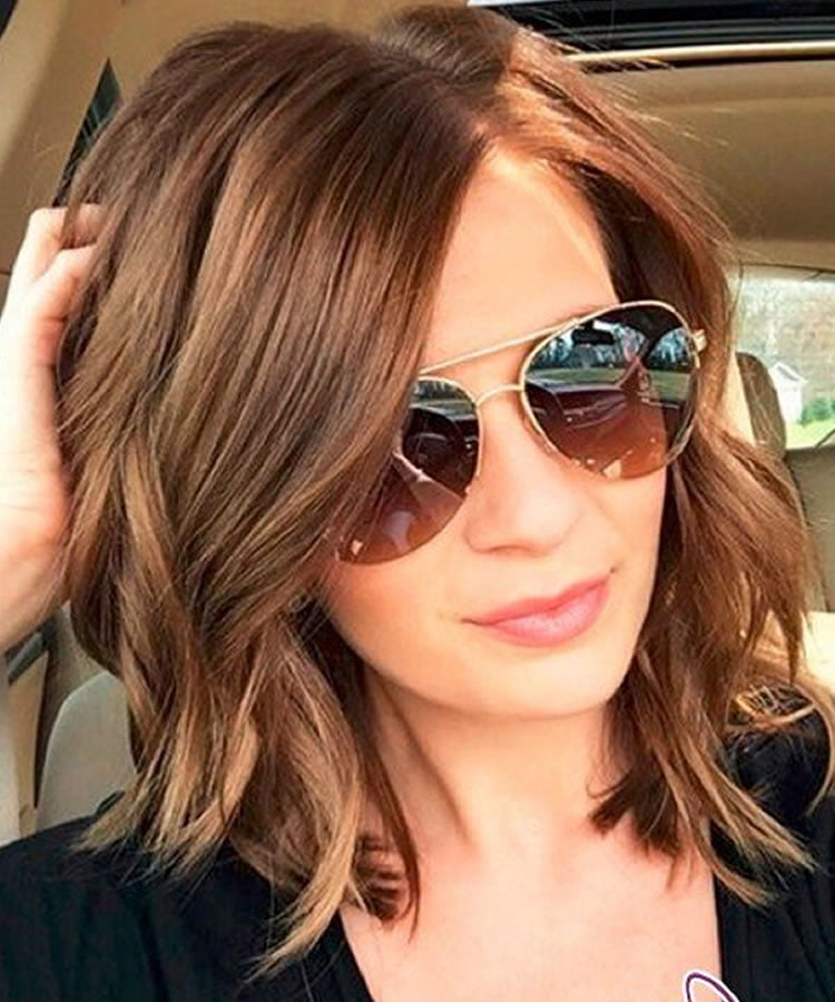 Excellent medium length hairstyles that you will like for summer 2019-2020 - Page 2 - HAIRSTYLES