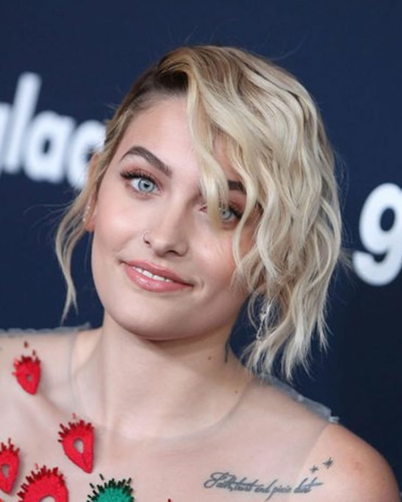 Wavy short bob haircut 2019-2020