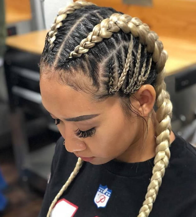 ghana braids for black women 2019-2020