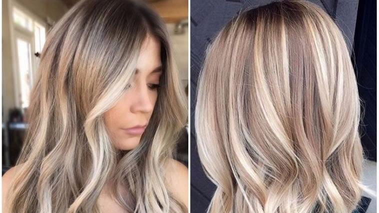 Hair Color Trends 2020.Fashionable Hair Dye 2019 2020 Trends Photos Medium And