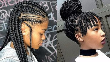 Braids hairstyles for black women 2019-2020