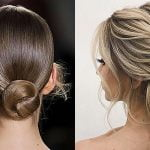 Bridal bun hairstyles for wedding 2019-2020