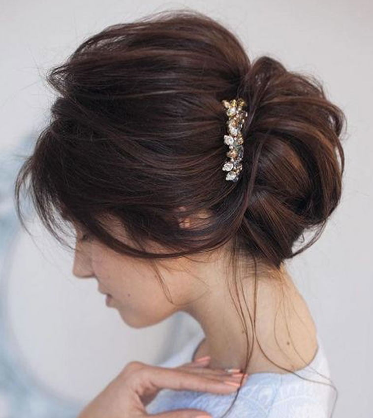 Bun Hairstyles For Wedding Or Party Hair 2020 Hairstyles