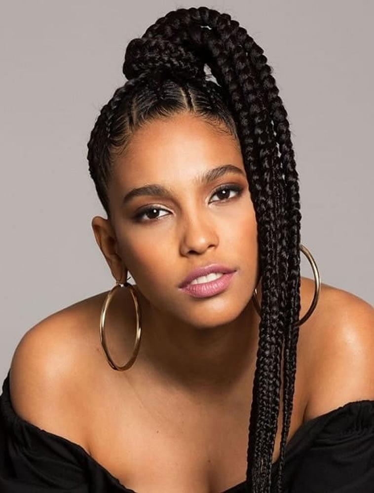 Braids hairstyles for black women 2019-2020