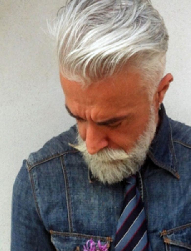 26 Grey Short Haircuts for Men Over 40 – Short Hair Ideas ...