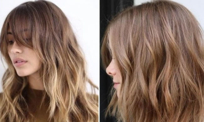 2020 Hair Color Trends For Brunettes.Fashionable Hair Dye 2019 2020 Trends Photos Medium And