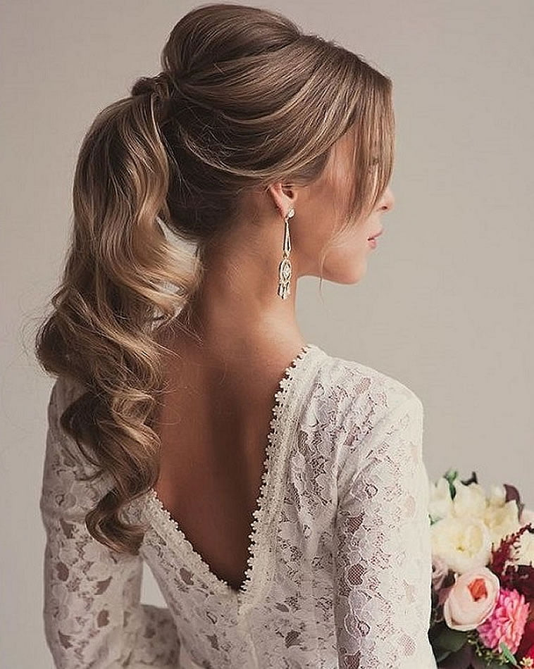 New Wedding hairstyles 2020 - The most beautiful hairstyle ideas for the bridal - Page 3 ...