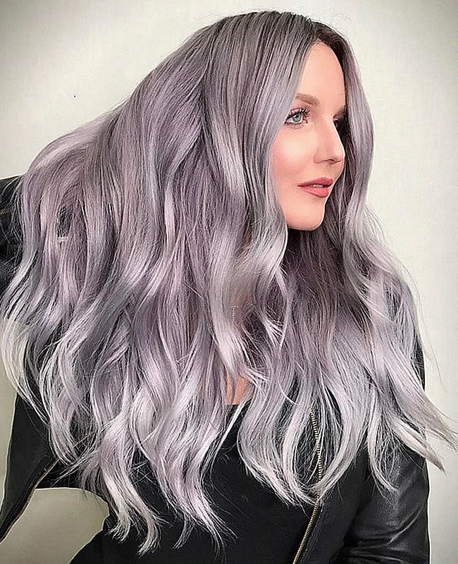 New trendy hair colors for 2019-2020