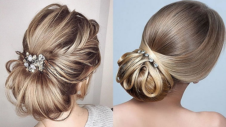 Popular wedding hairstyles for summer 2019-2020