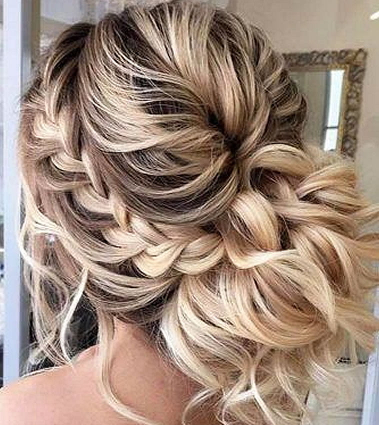 Wedding Party Hairstyle For Thin Hair: Top 10 Best Wedding Hairstyles For Long Hair 2019