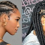 Trendy ghana braids for black women 2019-2020