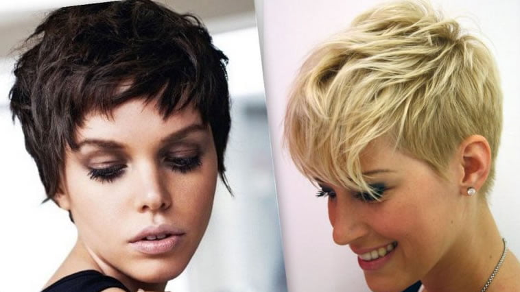 Pixie Haircut For Short Hair 2019 2020 Front And Back