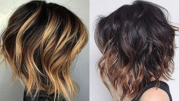 Balayage hair colors 2019-2020