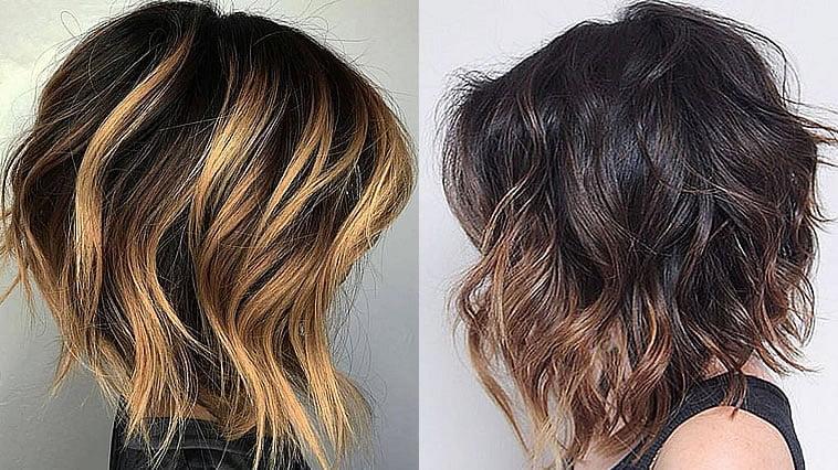 Balayage hair colors 2019-2020