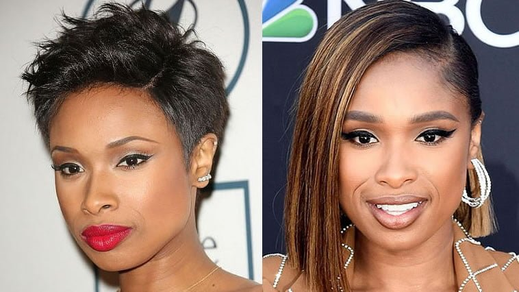 Black Women Jennifer Hudson Short Haircuts 2019-2020