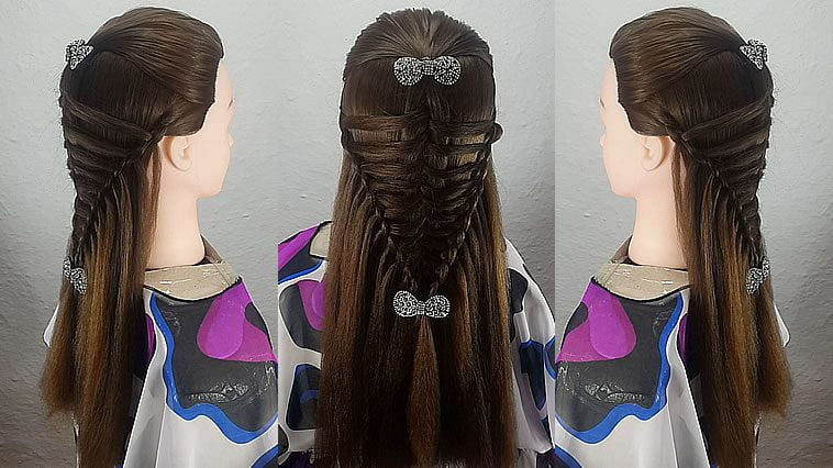 Wedding hairstyles for long hair 2019-2020