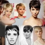 Fine hair short pixie haircut 2019-2020