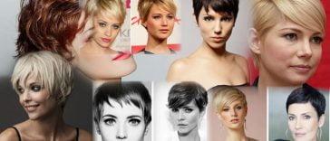 Fine hair short pixie haircut 2019-2020