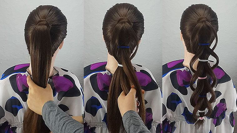 High ponytail hairstyles for girls 2019-2020