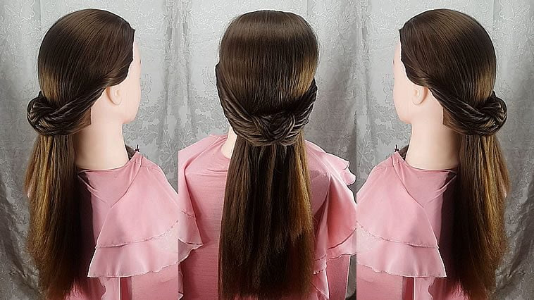 Party-Prom Hairstyle Tutorial in 2019-2020