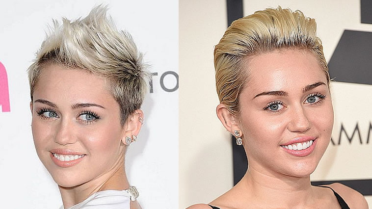 Miley Cyrus short hairstyles 2019-2020