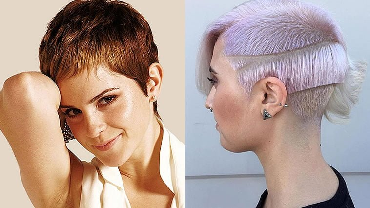 Pixie haircut and hair colors for 2019-2020