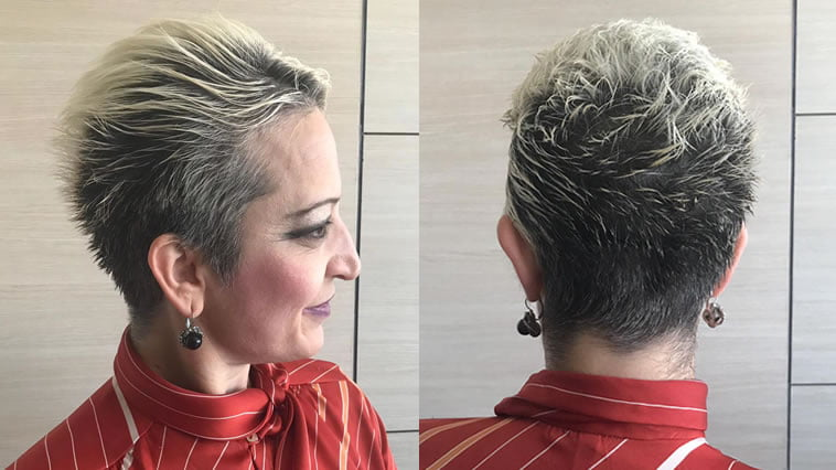 Pixie haircuts and hair colors for women 2019-2020