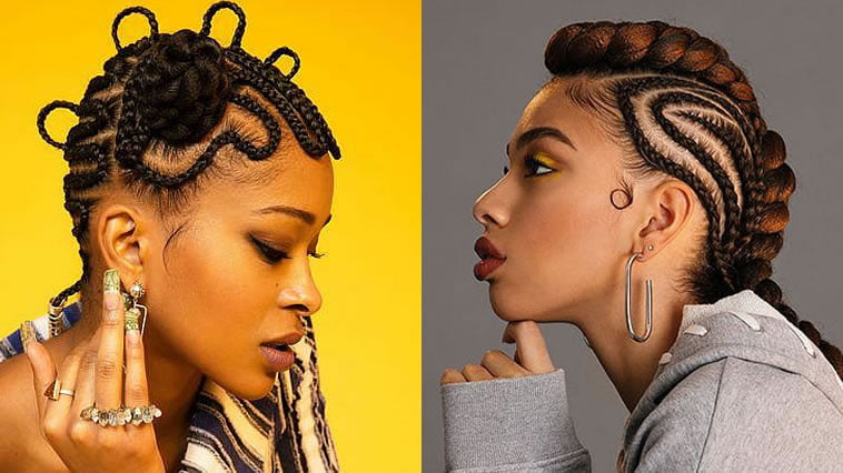 black people hair braids 2019-2020