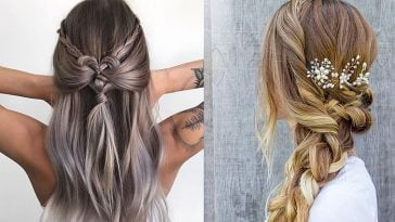 braided long hairstyles for school 2019 - 2020