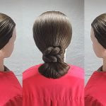 bun hairstyles for older women over 50