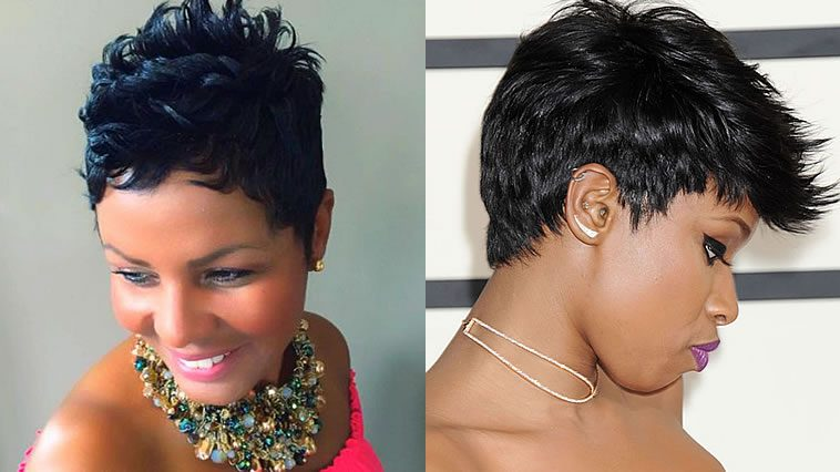 2020 Short hairstyles for black women over 30-40