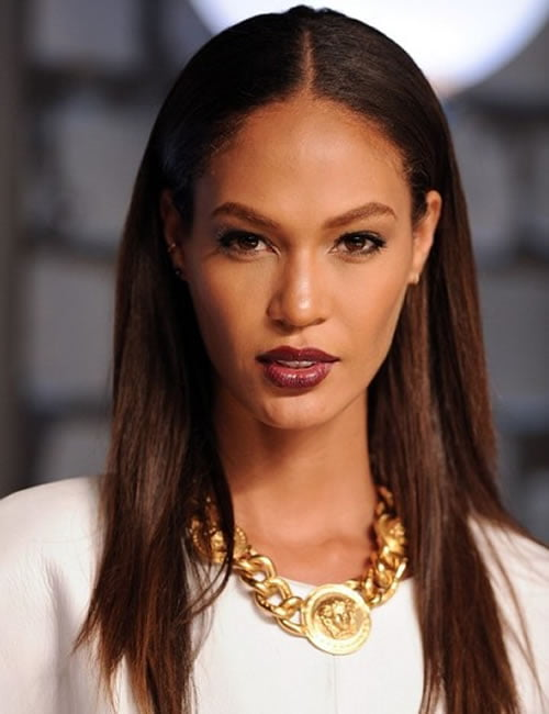 Afro- latin model joan smalls hairstyles 2019-2020