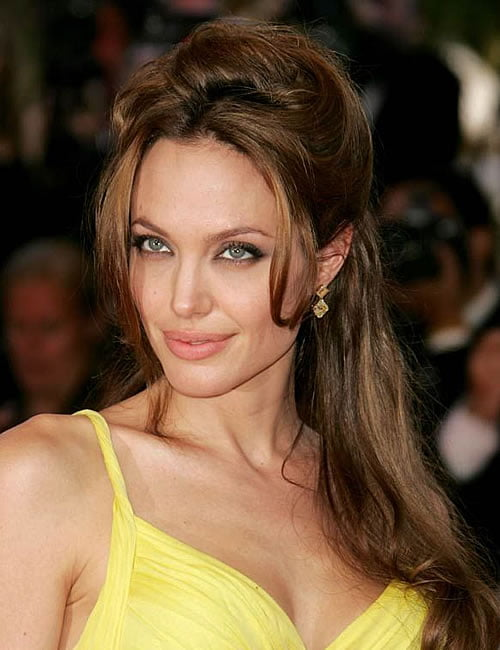 Angelina Jolie Hairstyles 2019-2020