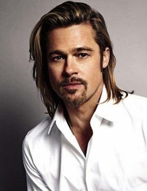 Brad Pitt hairstyles and haircuts 2019-2020