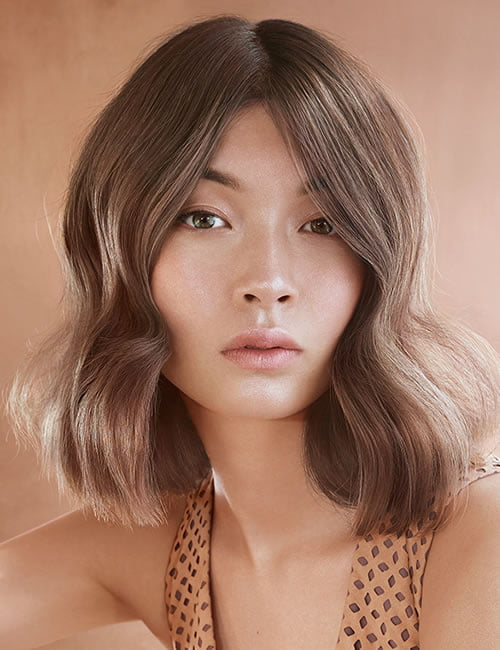 brown hair color 2019-2020 long bob hairstyle
