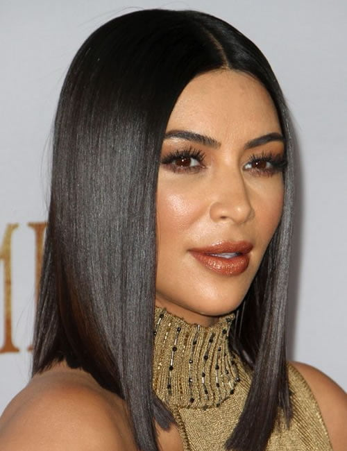 Long bob hairstyle 2020 Kim Kardashian Hairstyles