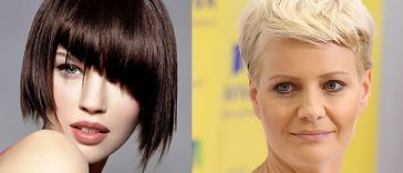 Pixie & Short Bob hairstyles for women over 40, 50, 60