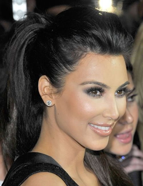 Pony tail long hairstyles 2019-2020