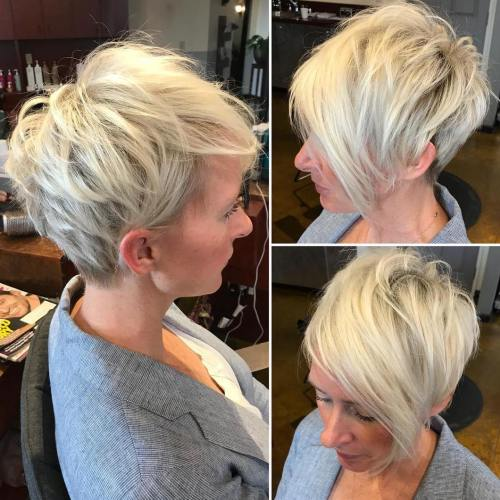 Short Bob Hairstyles and Short Haircuts for Fine Hair 2019-2020