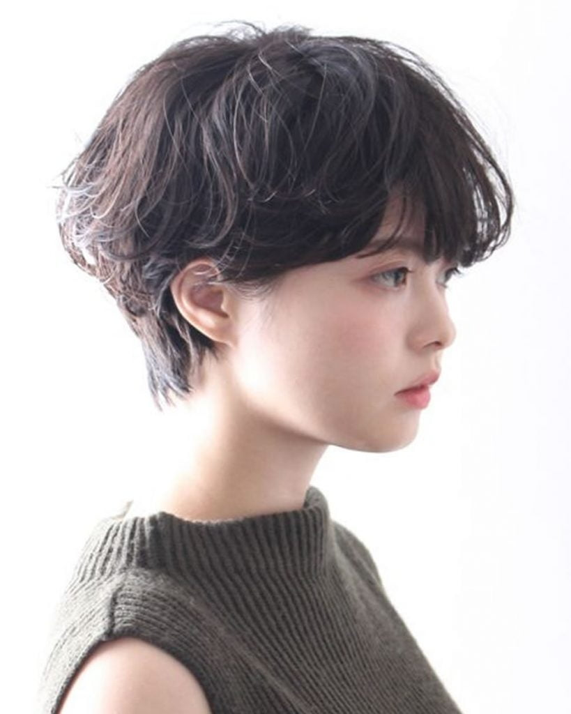 Most Trendy Short Haircut Ideas For Asian Women 2019 2020