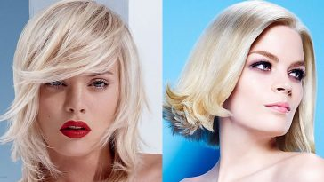 Short bob hairstyles and hair colors 2019-2020