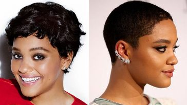 Short haircuts for black women 2020 - Kiersey Clemons Hairstyles & Hair Colors