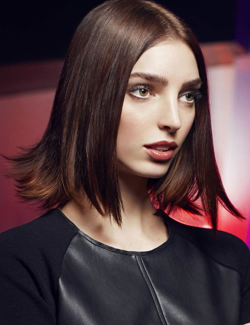 brown ombre bob haircut 2020