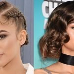 Zendaya Coleman hairstyles and hair colors 2019-2020