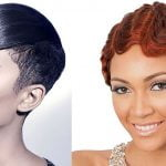 African American short hairstyles for thin hair 2020