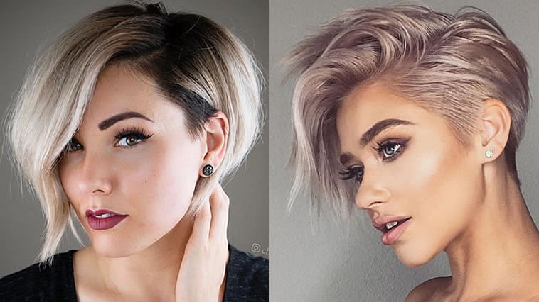 Short haircuts for women 2019-2020
