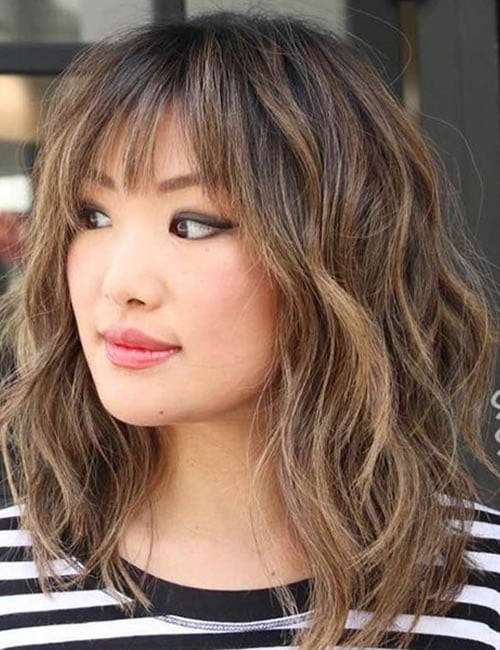 Wavy hairstyles for women 2019-2020