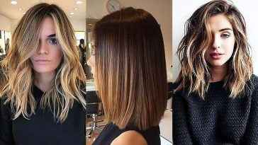 Medium length hairstyles 2020-2021