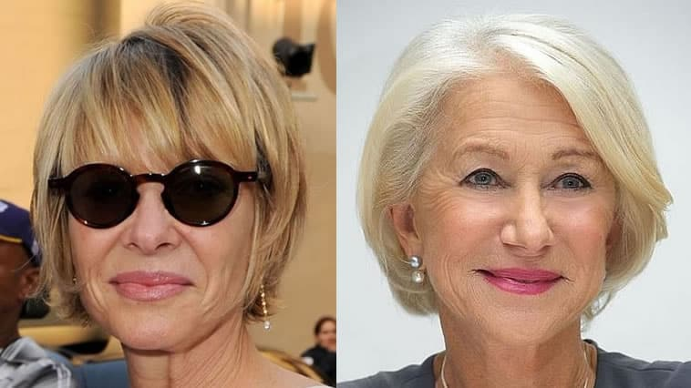 2020 short haircuts for older women over 60